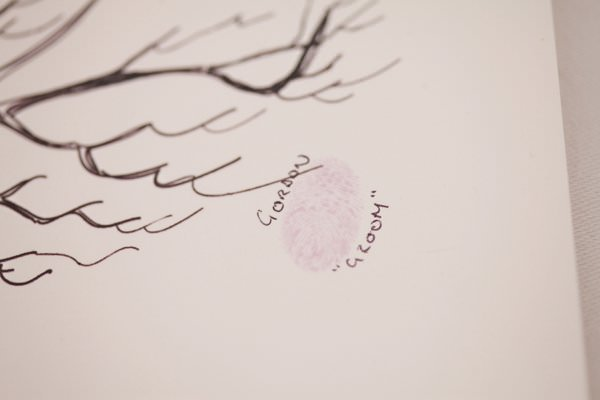 Pretty Pastel Romantic DIY Wedding Finger Print Guest Book  http://www.milkbottlephotography.co.uk/