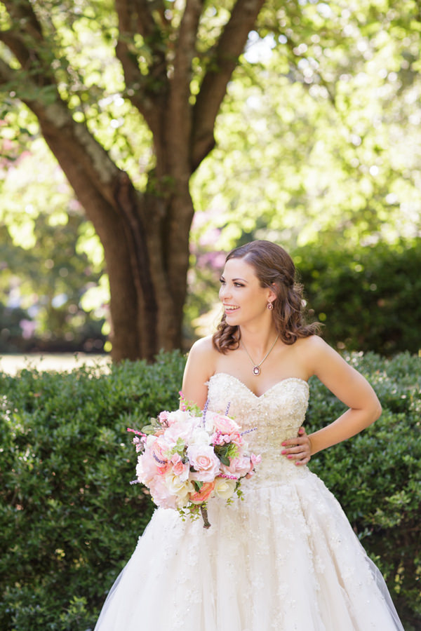 Fairytale Garden Party North Carolina Wedding