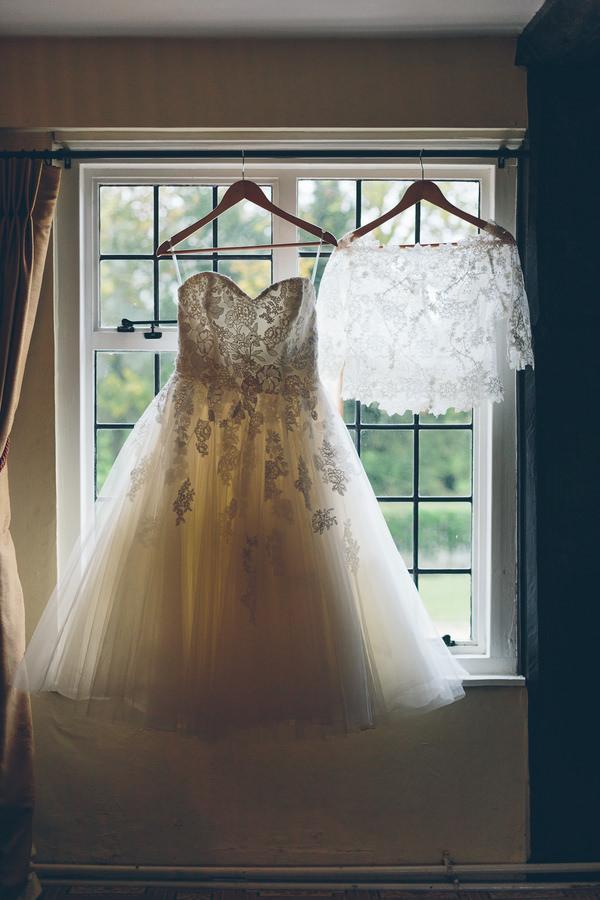 Enzoani Dress Bride Lace Tulle Creative Fun Rainbow Wedding http://www.christinewehrmeier.com/