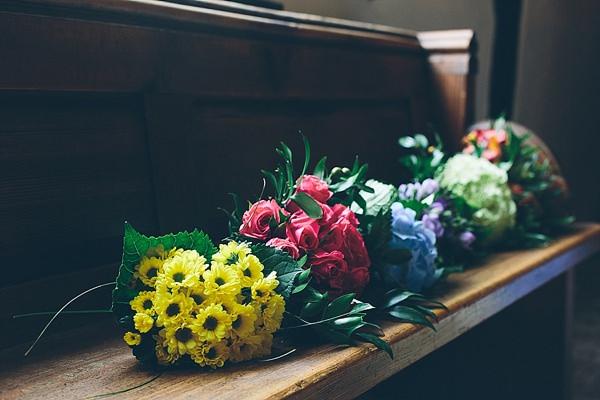 Creative Fun Rainbow Wedding Flowers Bouquets http://www.christinewehrmeier.com/