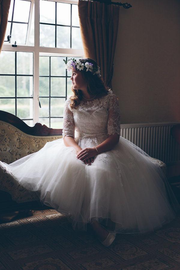 Enzoani Dress Bride Creative Fun Rainbow Wedding http://www.christinewehrmeier.com/
