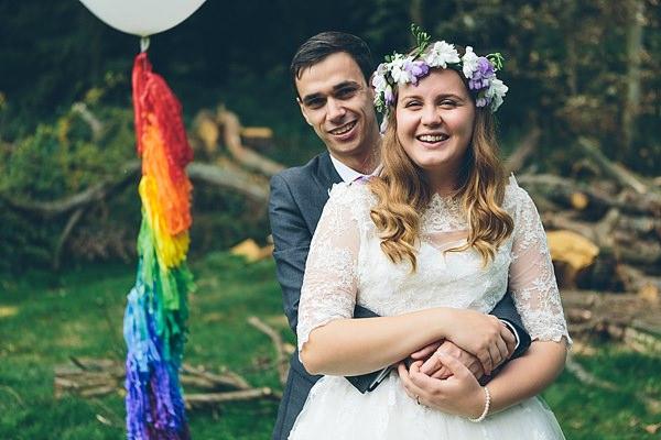 Creative Fun Rainbow Wedding http://www.christinewehrmeier.com/