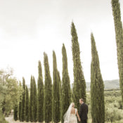 Intimate Tuscan Countryside Destination Wedding