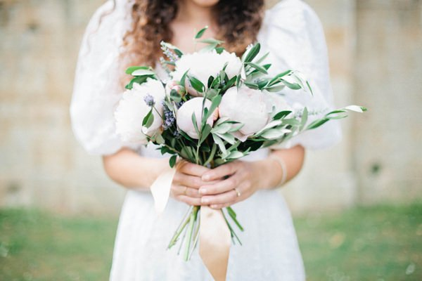 Beautiful Summer Provence Flower Wedding Ideas Peony Lavender Ribbon Bridal Bouquet Flowers http://www.brittspring.com/