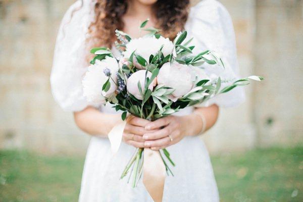 Beautiful Summer Provence Flower Wedding Ideas Peony Lavender Ribbon Bridal Bouquet Flowers http://www.brittspring.com/