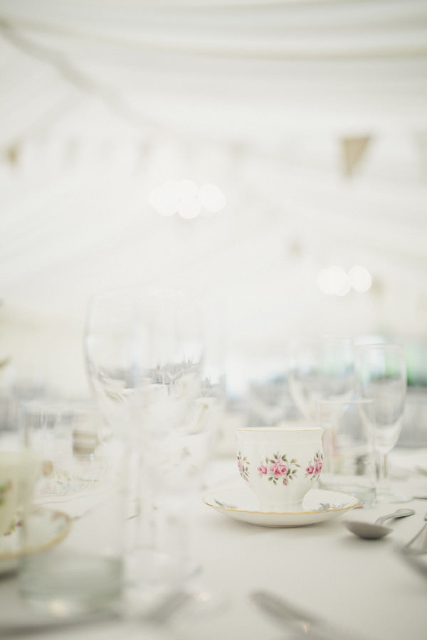 Vintage China Bunting Marquee Wedding http://www.mattethan.co.uk/