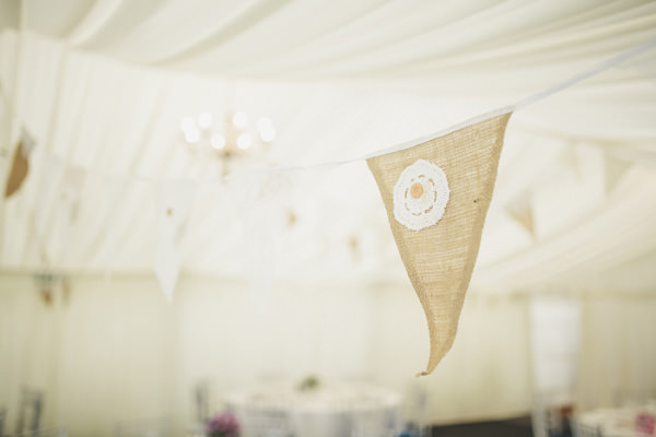 Vintage China Bunting Marquee Wedding Hessian Bunting http://www.mattethan.co.uk/