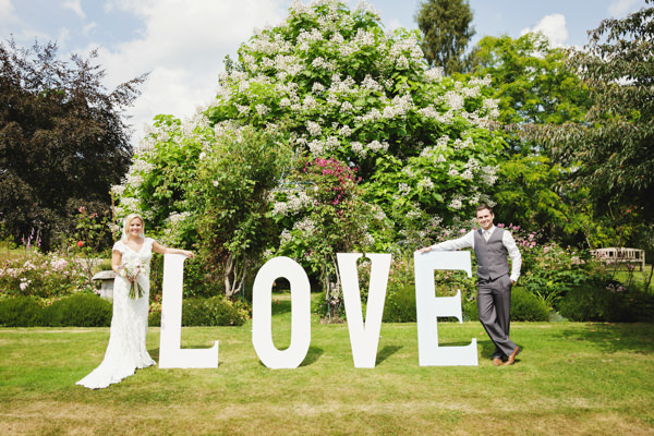Blissful & Pretty Summers Day Love Fest Wedding