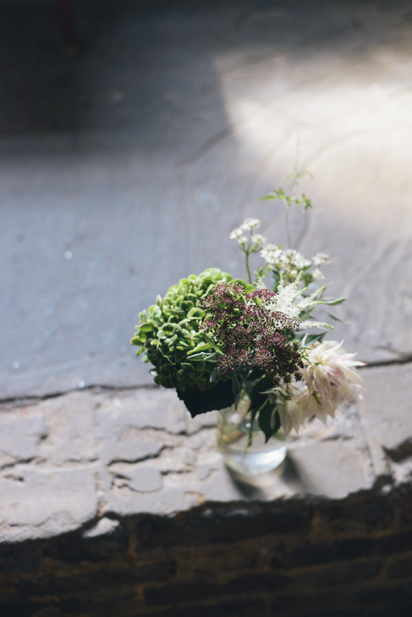 Eclectic DIY London Wedding Jar Flowers http://chironcole.com/