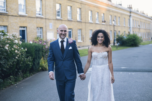 Kobus Dippenaar Dress Bride Eclectic DIY London Wedding http://chironcole.com/