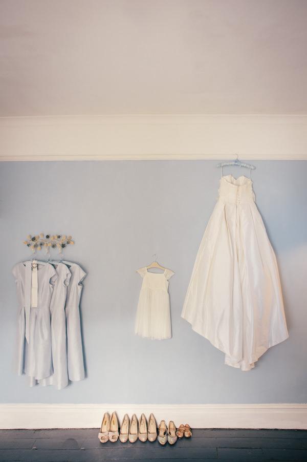 Stephanie Allin Dress Colourful Homemade Village Hall Wedding http://hollydeacondesign.com/