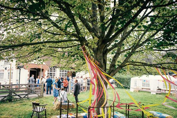 Colourful Homemade Village Hall Wedding http://hollydeacondesign.com/