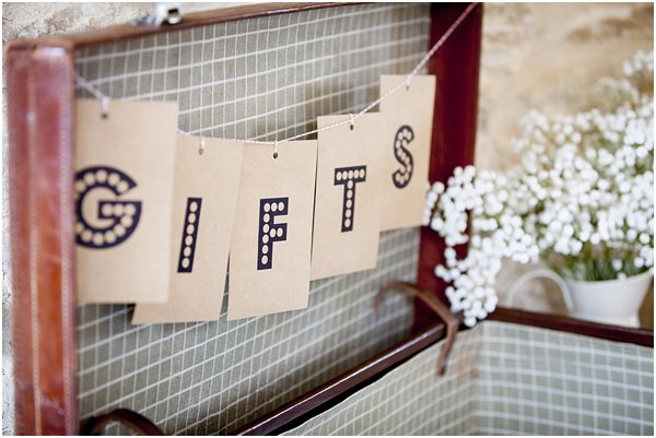 Morris Dancers Flower Crowns Outdoor Barn Wedding Suitcase Cards Gifts http://paoladepaolaweddings.com/