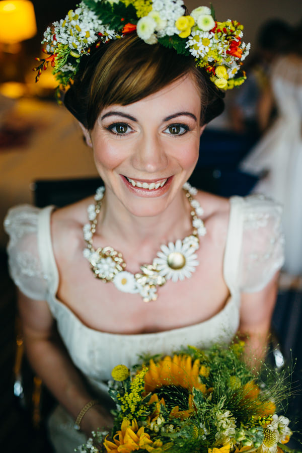 Earthy & Natural Rustic Yellow & Turquoise Wedding