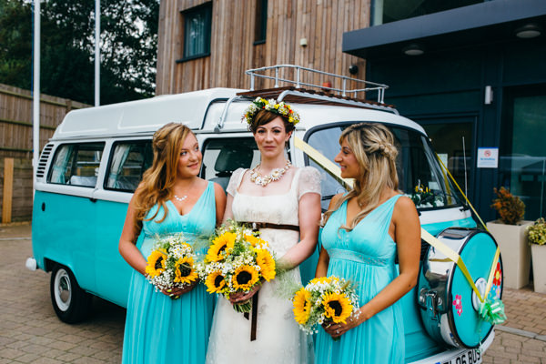 Earthy Natural Rustic Yellow Turquoise Wedding Bridesmaids  http://www.graceandtheheart.co.uk