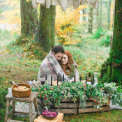 Handfasting Elopement Inspiration in the Scottish Wilderness