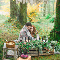 Handfasting Elopement Inspiration in the Scottish Wilderness http://www.photographychantal.co.uk/