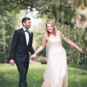 Teal 1920s Black Tie Glamour meets French Summer Wedding