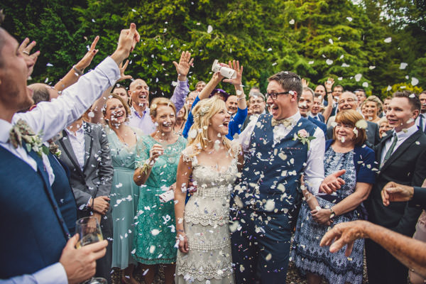 Quirky Stylish Lovely Big Party Wedding Confetti http://www.mattbrownphotography.co.uk/
