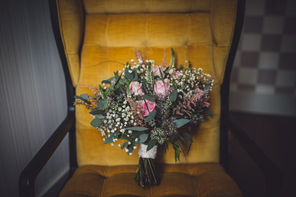 Quirky Stylish Lovely Big Party Wedding Pink Rose Bridal Bouquet  http://www.mattbrownphotography.co.uk/