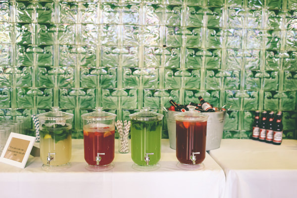 Creative Hand Crafted Swimming Pool Wedding Drink Despensers Bar http://www.emmaboileau.co.uk/