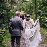 Natural Wilderness Woods Wedding http://photosby.si/