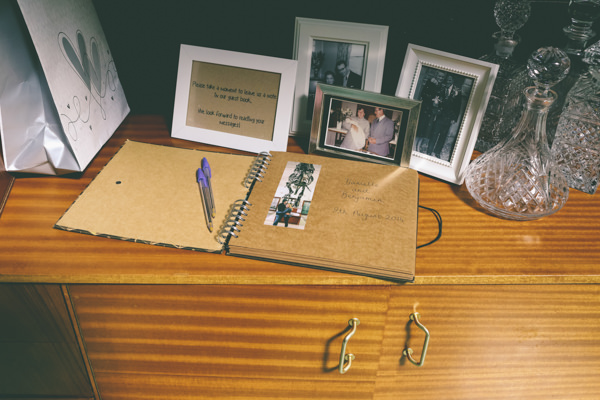 Creative Hand Crafted Swimming Pool Wedding Guest Book http://www.emmaboileau.co.uk/