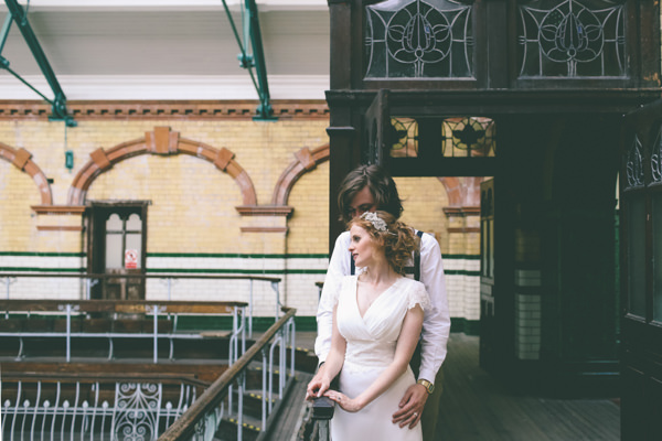 Creative Hand Crafted Swimming Pool Wedding http://www.emmaboileau.co.uk/