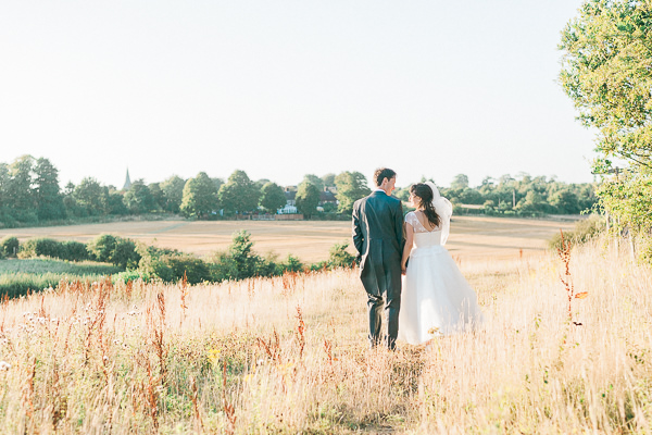 Pastel Country Summer Fete Style Village Hall Wedding