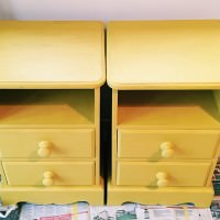 Furniture Painting Upcycle Annie Sloan English Yellow Chalk Paint