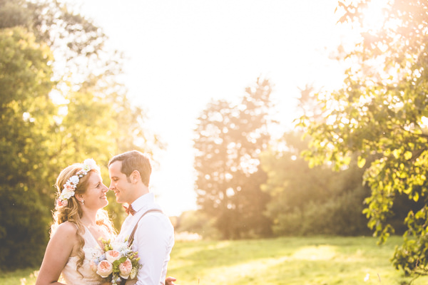 Quirky Summer Country Garden Barn Wedding