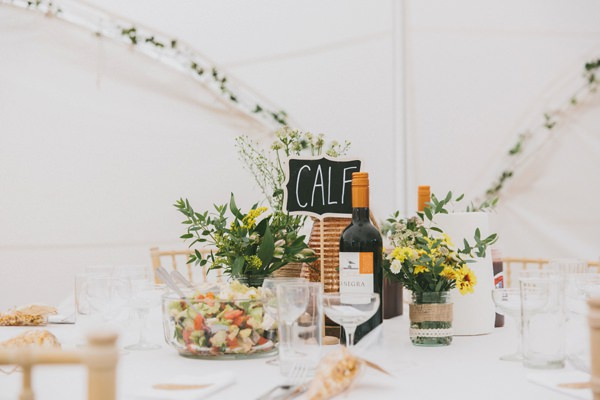 Animal Table Names Blackboard Home Made Rustic Garden Party Wedding