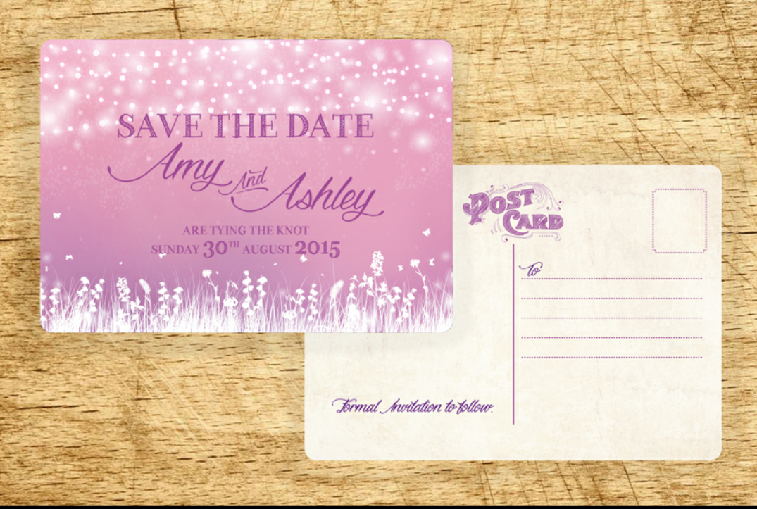 The Bride Diaries. Amy's Valentine's Day & Save The Dates