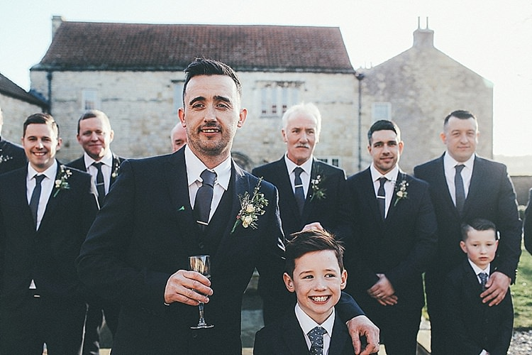 Next Suit Groomsmen Whimsical Green White Fairy Lights Winter Wedding http://jesspetrie.com/