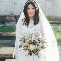 Whimsical Green White Fairy Lights Winter Wedding http://jesspetrie.com/