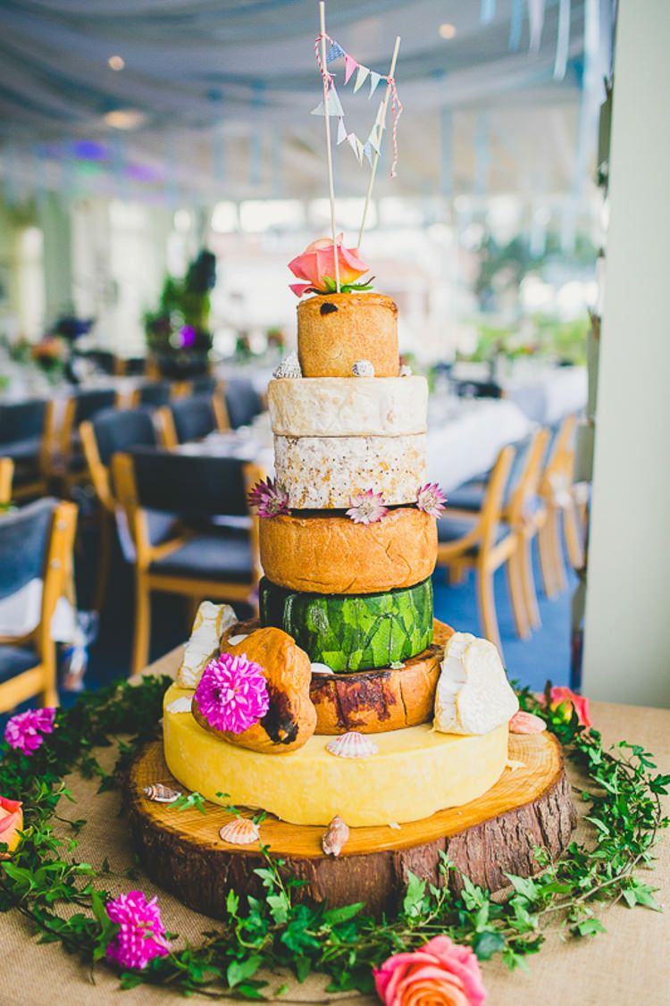 Pork Pie Cheese Cake Tower Stack Nautical Yacht Club Harbour Wedding Http Www
