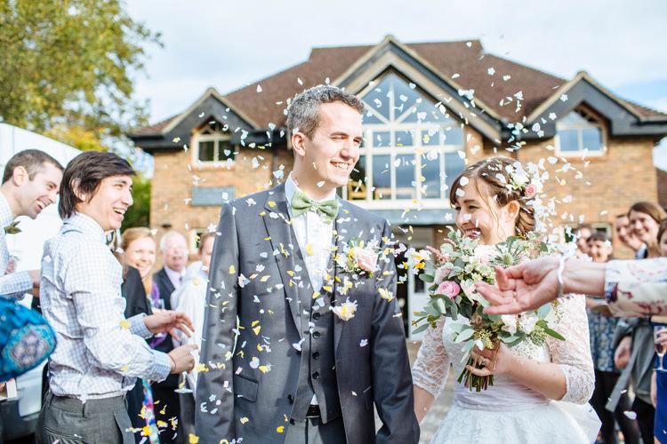 Confetti Pretty Quirky DIY Village Hall Wedding http://lauradebourdephotography.com/