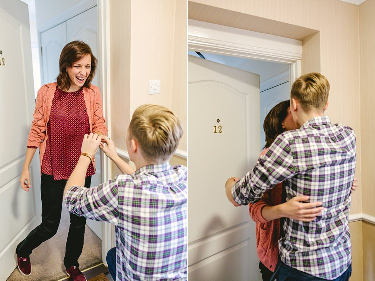 Proposal Engagement Beautiful Relaxed Surprise Wedding http://www.theimagegarden.co.uk/