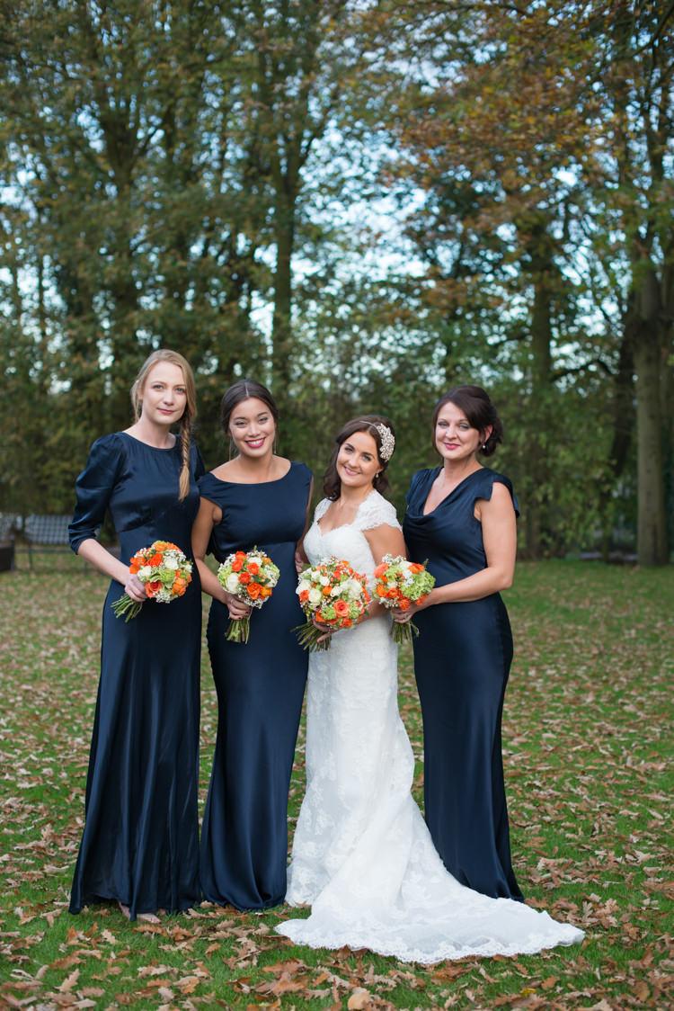 Ghost Bridesmaid Dresses Glam 1920s Charming Orange Navy Rustic Wedding http://www.kayleighpope.co.uk/