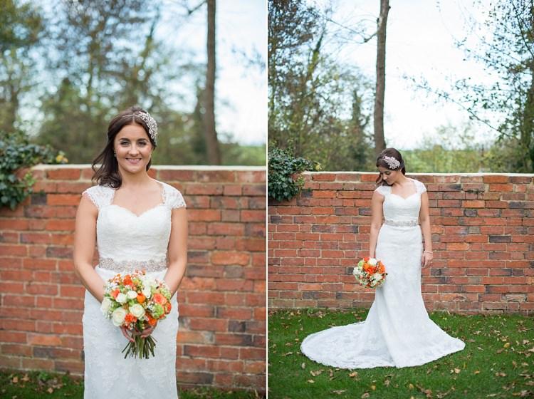 La Sposa Dress Lace Bride Charming Orange Navy Rustic Wedding http://www.kayleighpope.co.uk/