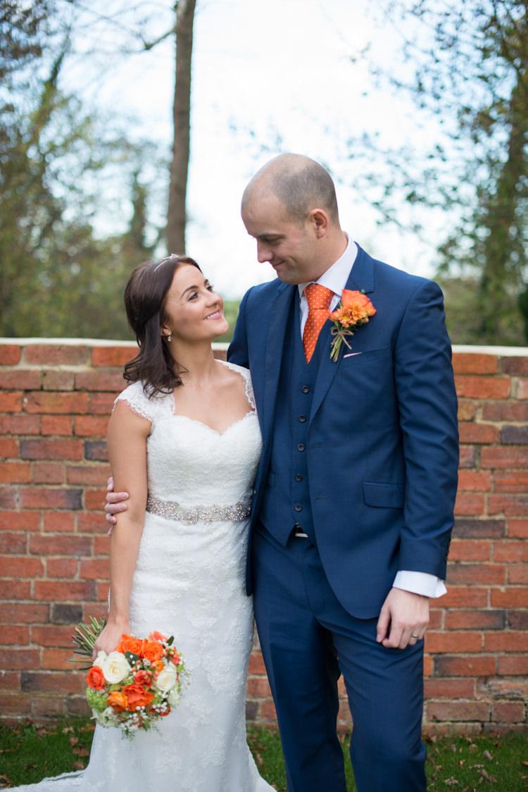 Charming Orange Navy Rustic Wedding http://www.kayleighpope.co.uk/