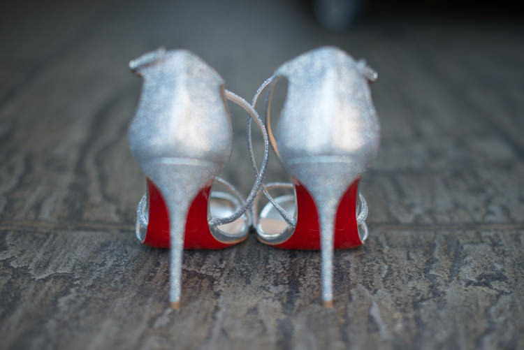 Christian Louboutin Shoes Heels Silver Metallic Bride Charming Orange Navy Rustic Wedding http://www.kayleighpope.co.uk/