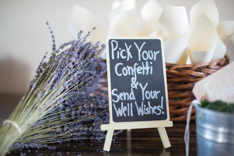 Confetti Bar Herbs Charming Orange Navy Rustic Wedding http://www.kayleighpope.co.uk/