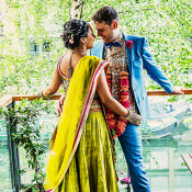 Summer Solstice Colourful London Multicultural Wedding