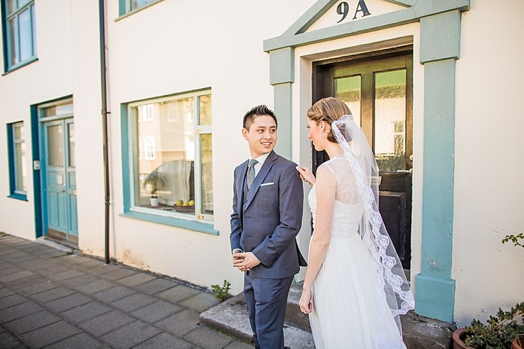 First Look Intimate Beautiful Iceland Wedding http://meettheburks.com/