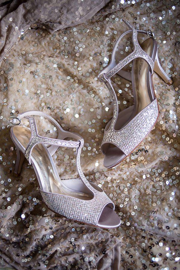 Glitter Silver Gold Sequin Shoes Bride Bridal Stylish Modern Monochrome Village Hall Wedding http://www.sarareeve.com/