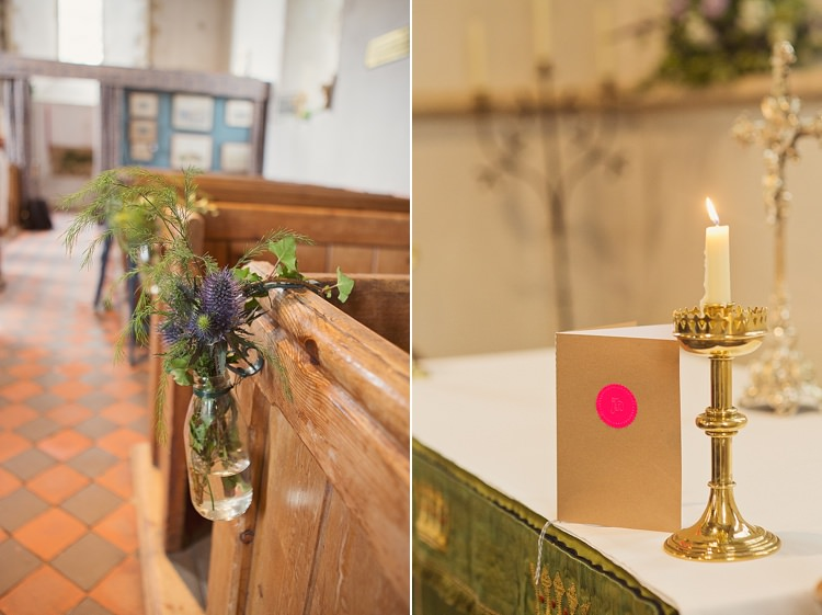 Church Flowers Pew Stylish Creative Wild Flower Crowns Tipi Wedding http://www.cottoncandyweddings.co.uk/