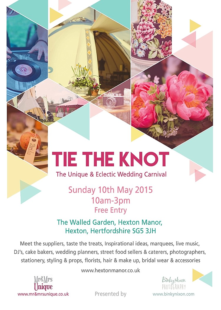 Tie The Knot Wedding Carival Fair Event Hertfordshire 2015