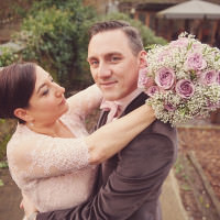 Fun Relaxed Autumn Quirky Pub Wedding http://www.rebeccadouglas.co.uk/