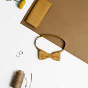April Look Accessories For Grooms. Colourful Bow Ties, Neck Ties & Pocket Squares